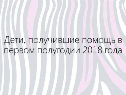 Подопечные 2018