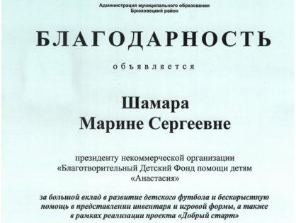 От МО Брюховецкого района