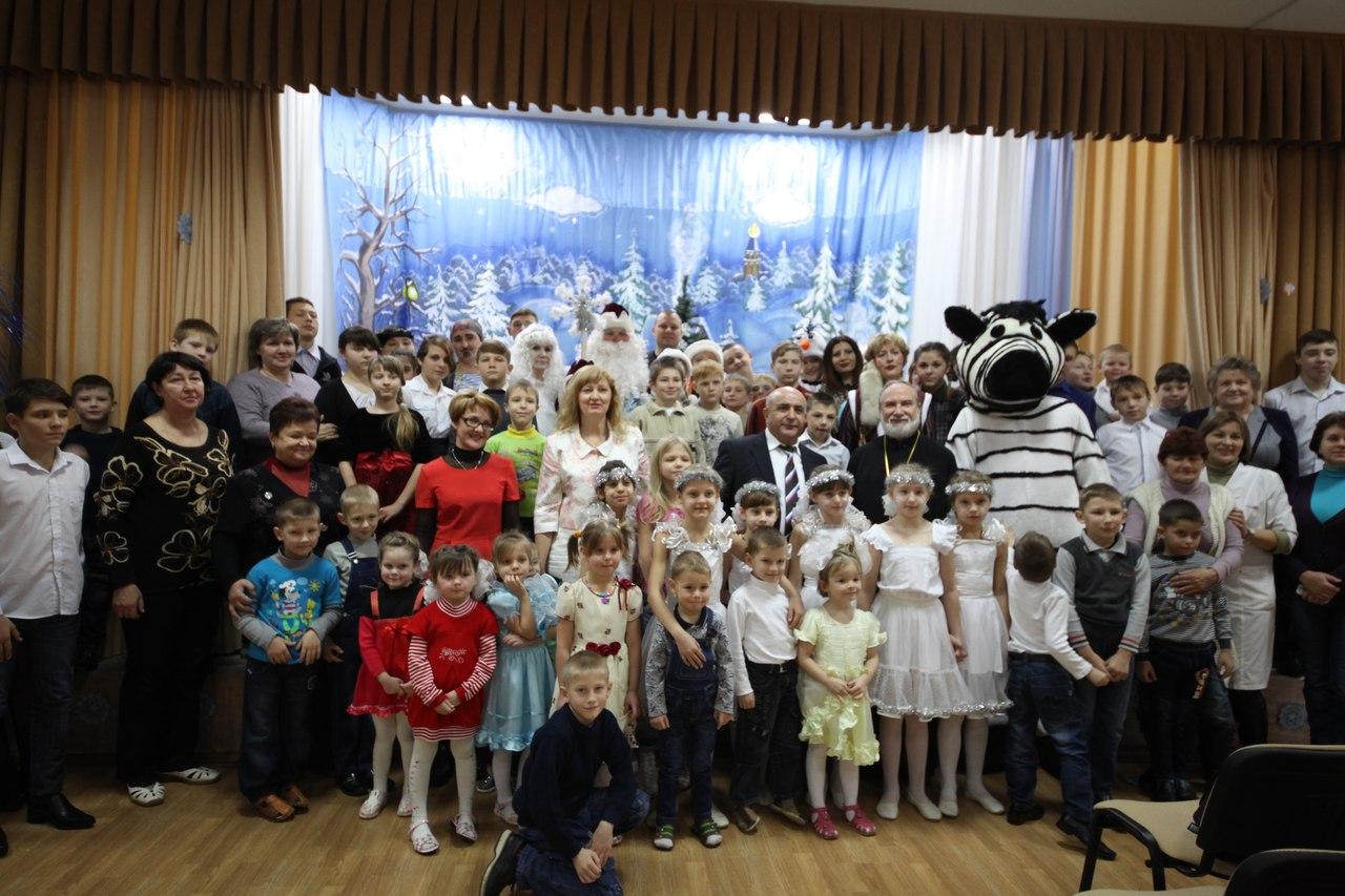 Новый год в Абинском СРЦ